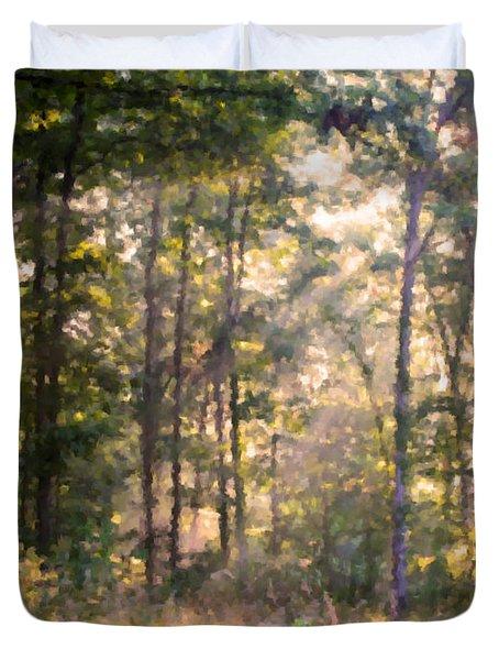 Morning Has Broken Duvet Cover by Kristin Elmquist