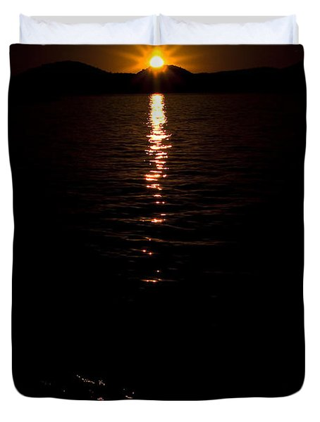 Morning Has Broken Duvet Cover by Tamyra Ayles