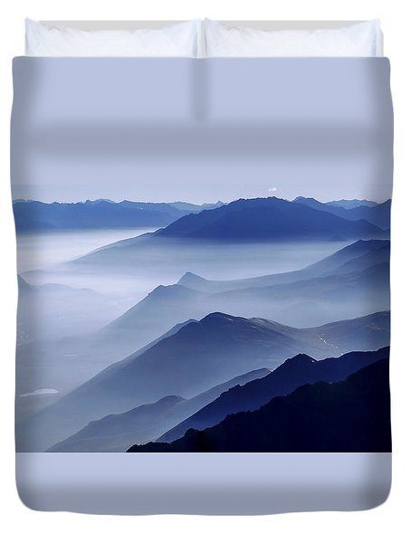 Morning Mist Duvet Cover by Chad Dutson