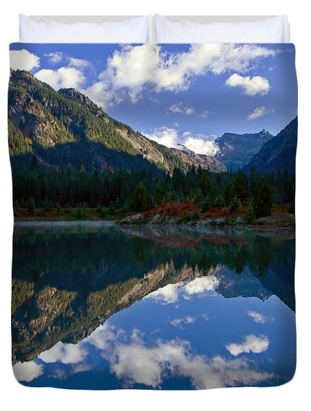 Morning Musings Duvet Cover by Mike  Dawson