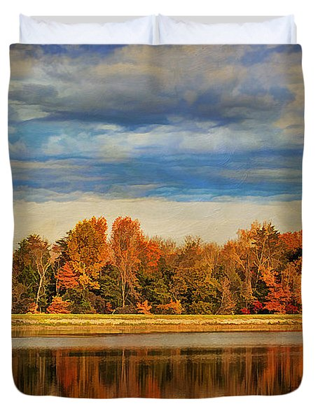 Morning Reflections Duvet Cover by Darren Fisher