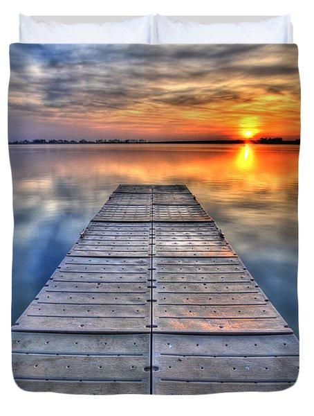 Morning Sky Duvet Cover by Scott Mahon