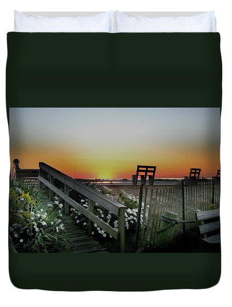 Morning View  Duvet Cover by Skip Willits