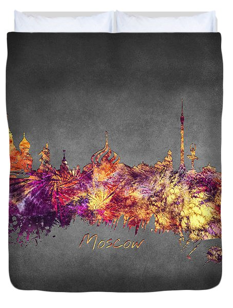Moscow Duvet Cover by Justyna JBJart