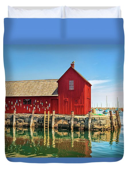 Motif One Duvet Cover by Marcia Colelli