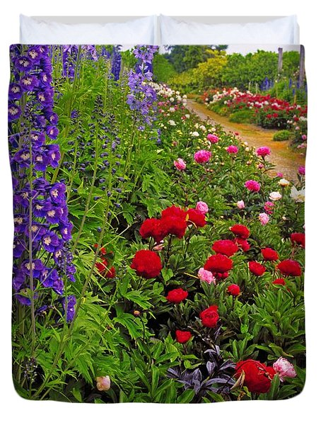 Mount Congreve Gardens, Co Waterford Duvet Cover by The Irish Image Collection