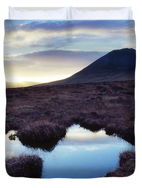 Mount Errigal, County Donegal, Ireland Duvet Cover by Gareth McCormack