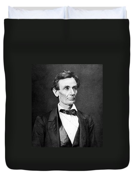 Mr. Lincoln Duvet Cover by War Is Hell Store