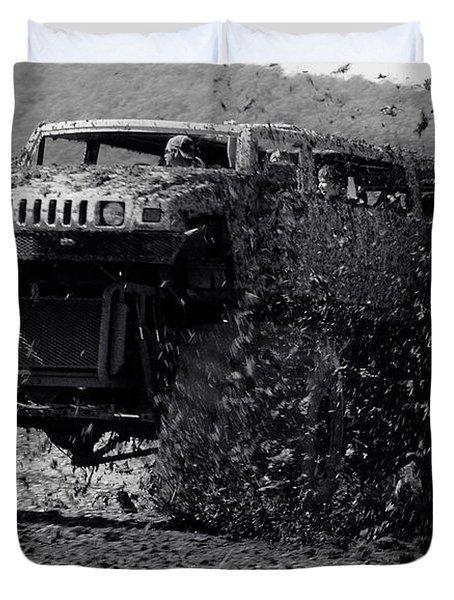 Mudder Duvet Cover by Robert Frederick
