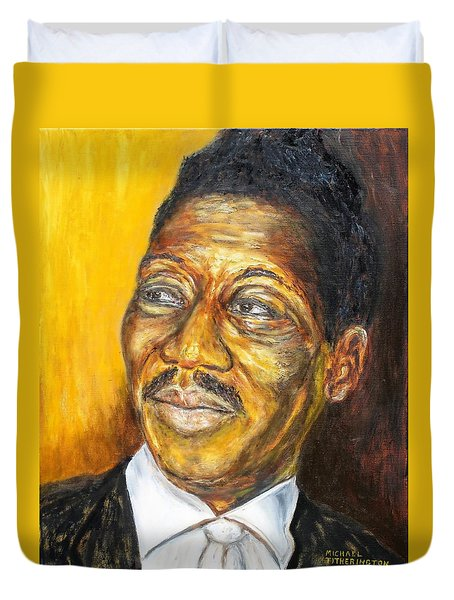 Muddy Waters Duvet Cover by Michael Titherington