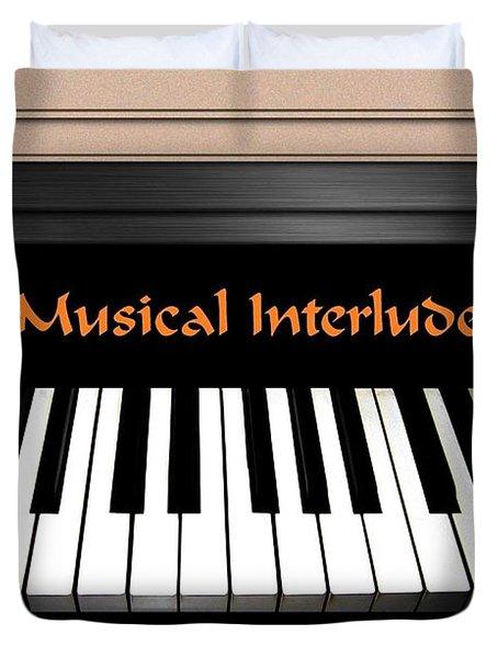 Musical Interlude Duvet Cover by Will Borden