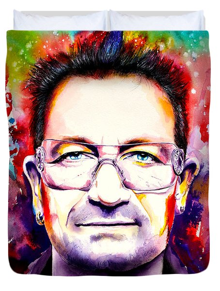 My Colors For Bono Duvet Cover by Isabel Salvador