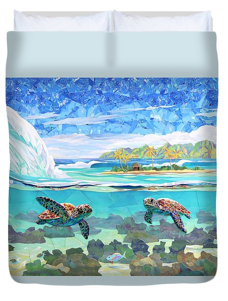 My Place Duvet Cover by Patrick Parker