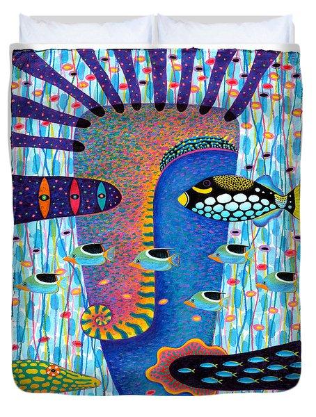 My Self 1 Duvet Cover by Opas Chotiphantawanon