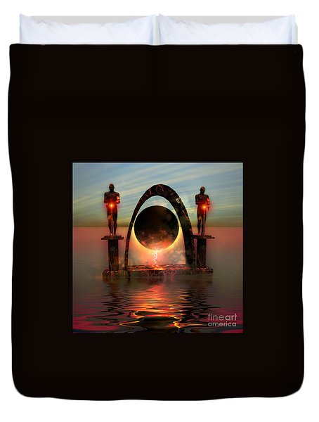 Napierian 12 Duvet Cover by Corey Ford