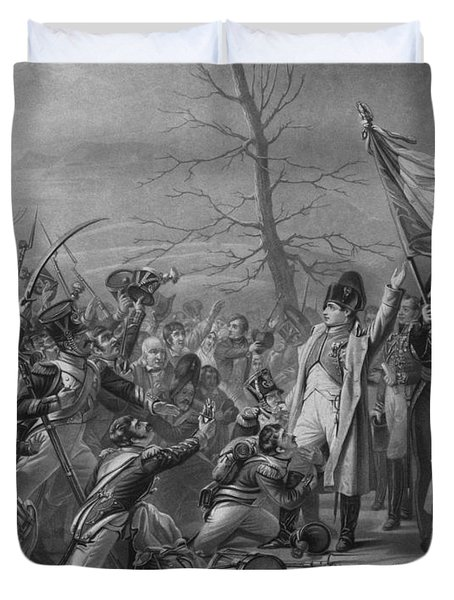 Napoleon Returns From Elba Duvet Cover by War Is Hell Store