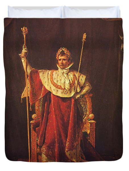 Napoleon Duvet Cover by War Is Hell Store