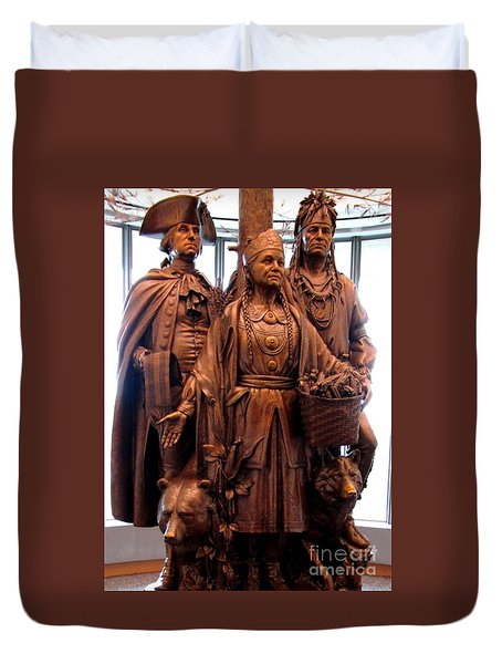 National Museum Of The American Indian 8 Duvet Cover by Randall Weidner