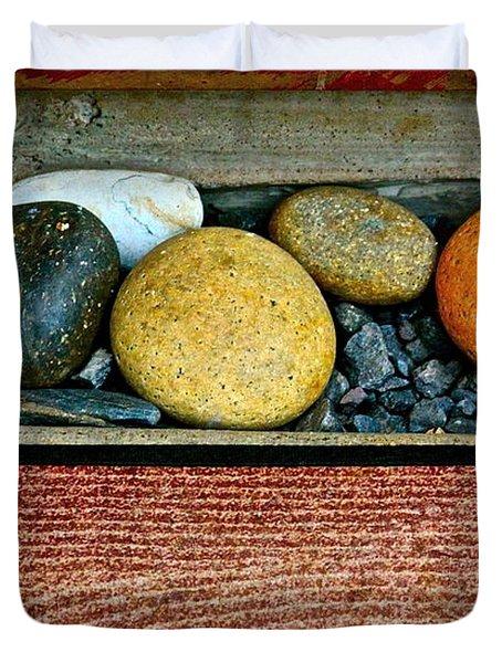 Natural Boundaries Duvet Cover by Karon Melillo DeVega