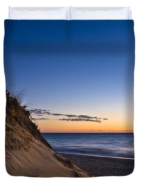 Nauset Beach Sunrise Duvet Cover by John Greim