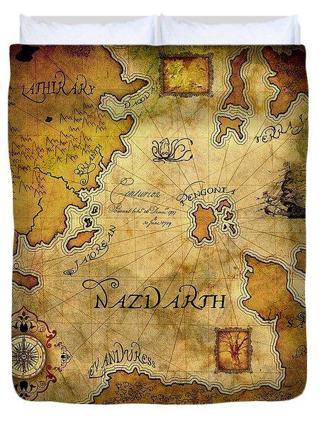 Nazdarth Duvet Cover by Brett Pfister