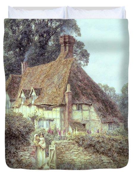 Near Witley Surrey Duvet Cover by Helen Allingham