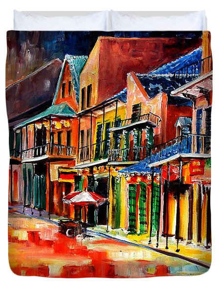 New Orleans Jive Duvet Cover by Diane Millsap