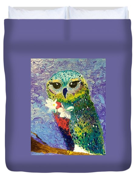 Night owl painting by dianne gallagher for Night owl paint color