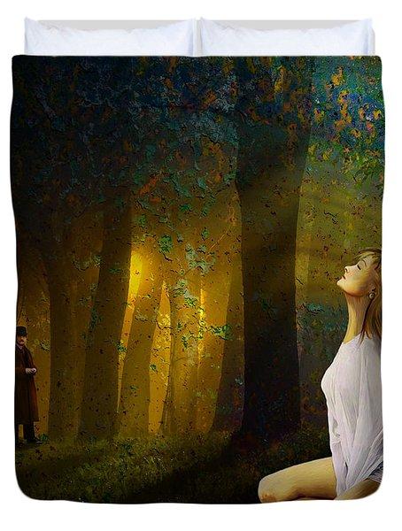Night Vision Duvet Cover by Van Renselar