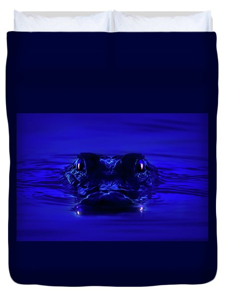 Night Watcher Duvet Cover by Mark Andrew Thomas