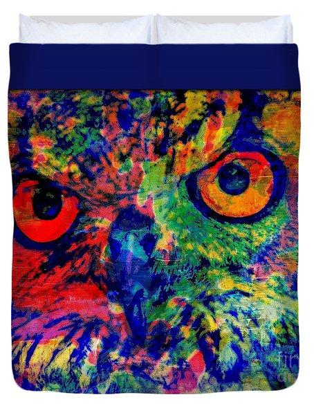 Nightwatcher Duvet Cover by WBK