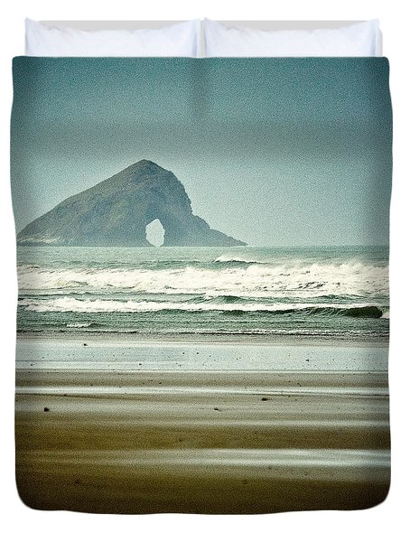 Ninety Mile Beach Duvet Cover by Dave Bowman