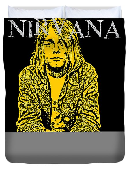 Nirvana No.07 Duvet Cover by Unknow