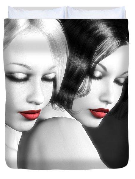 No More Secrets Duvet Cover by Alexander Butler