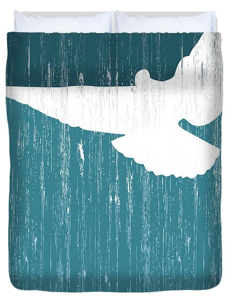 No011 My Blade Runner Minimal Movie Poster Duvet Cover by Chungkong Art
