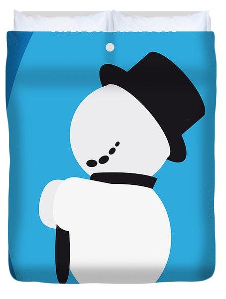 No172 My Knick Knack Minimal Movie Poster Duvet Cover by Chungkong Art