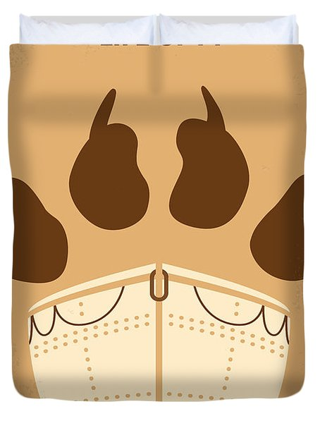 No173 My Life Of Pi Minimal Movie Poster Duvet Cover by Chungkong Art