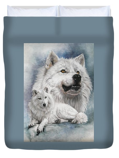 Noble Intensity Duvet Cover by Barbara Keith