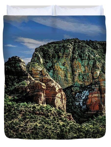 Nobody Paints Like Mama Duvet Cover by Jon Burch Photography