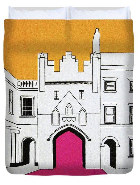 North Bar Duvet Cover by Oliver Johnston