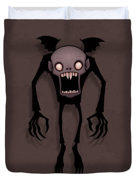 Nosferatu Duvet Cover by John Schwegel