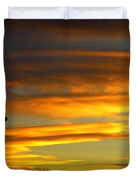 November Sunset Duvet Cover by James BO  Insogna