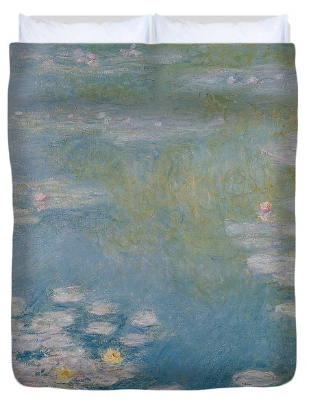 Nympheas At Giverny Duvet Cover by Claude Monet