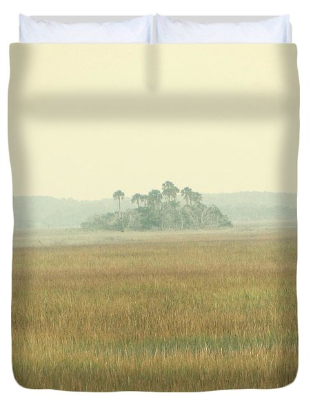 Oasis Duvet Cover by Amy Tyler