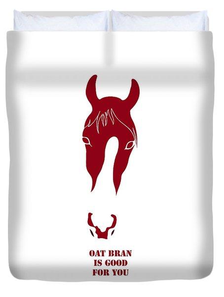 Oat Bran Is Good For You Duvet Cover by Frank Tschakert