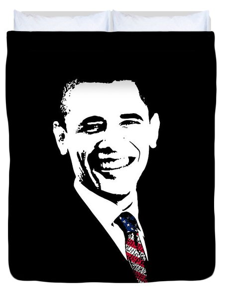 Obama Duvet Cover by War Is Hell Store