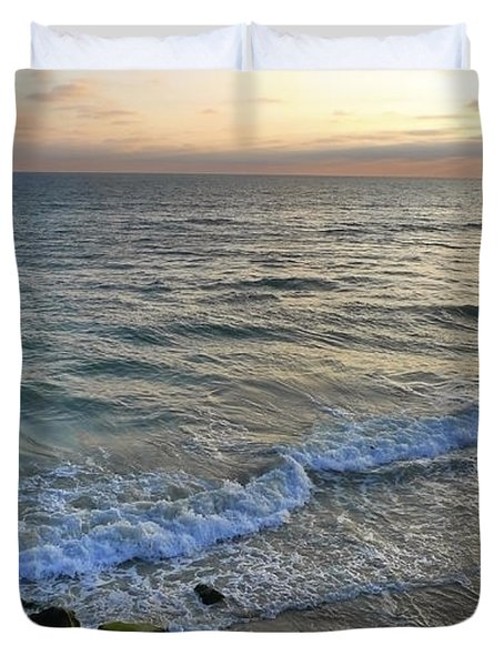 Oceanside Duvet Cover by Skip Hunt
