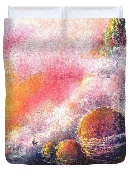 Odyessy Duvet Cover by Melody Horton Karandjeff