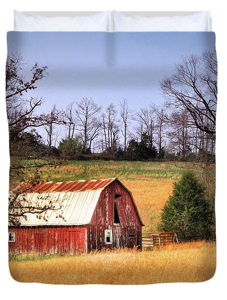 Old Barn Duvet Cover by Tamyra Ayles