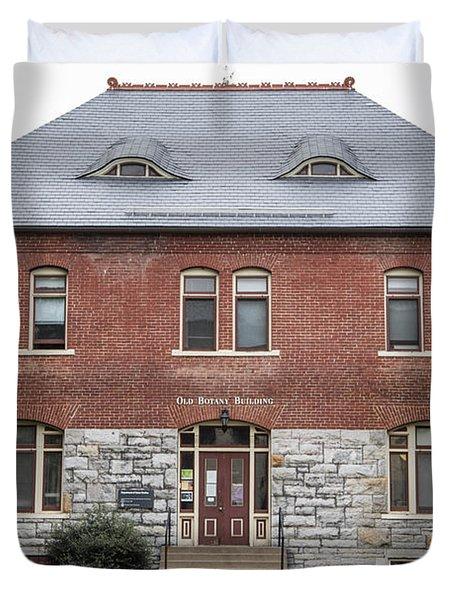 Old Botany Building Penn State  Duvet Cover by John McGraw